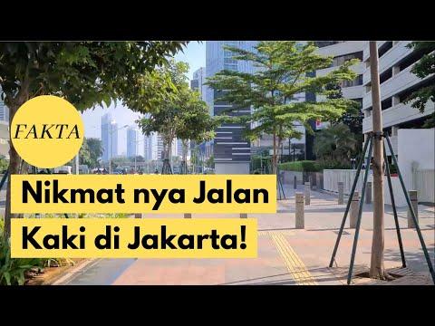 INDAHNYA JAKARTA! Inilah Lokasi Terbaik buat Berjalan Kaki di Jakarta