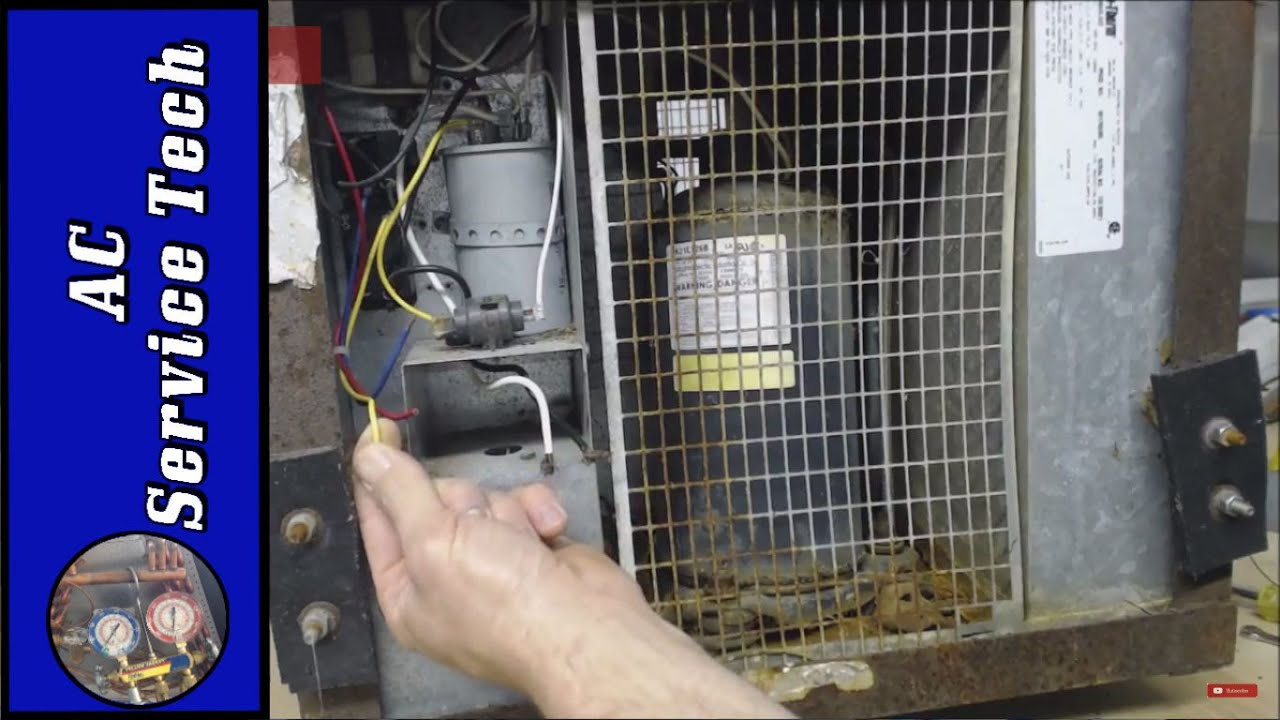 How To Service The Duotherm Air Conditioner Under A Trailer Youtube Duo Therm Mobile Home Furnace Wiring