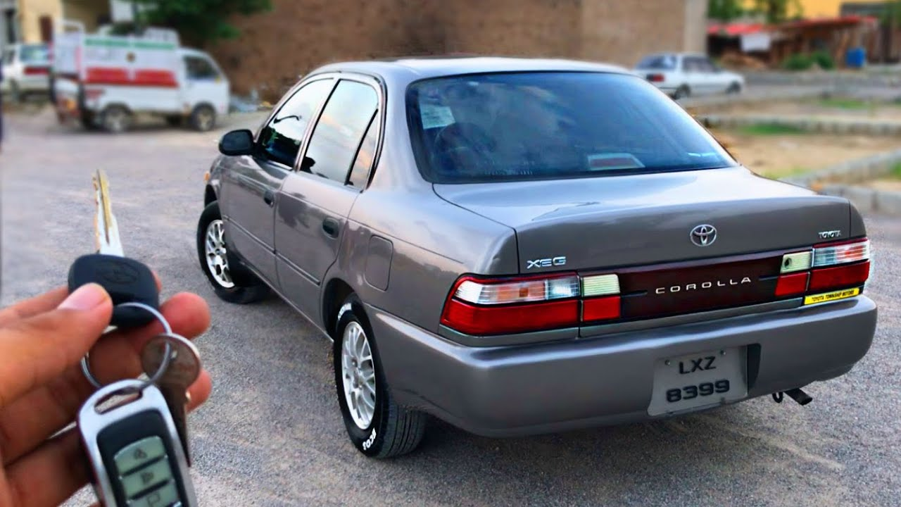 Toyota Corolla 2001 XEG 1.3 Full Genuine   Owner's Review: Specs & Feature Review/Pakistan