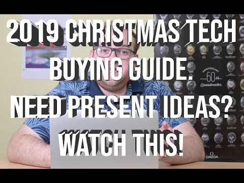 The Definitive Tech Christmas Gift Guide for 2019 - Ideas for both young and old!