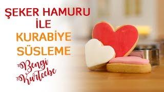 Şeker Hamuru ile Kurabiye Süsleme | Sevgililer Gününe Özel Tarifler