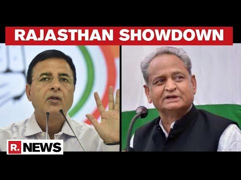 "Rajasthan Political crisis: Congress' Randeep Surjewala Says, ""CM Wants To Prove Majority'"