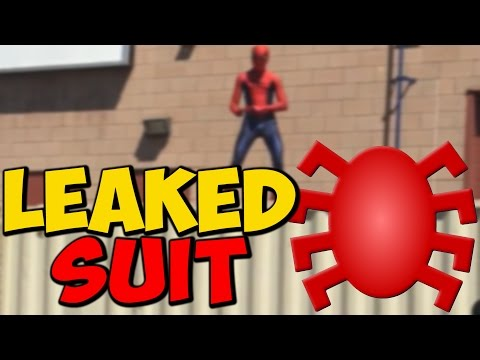 SPIDER-MAN SUIT FROM CIVIL WAR LEAKED