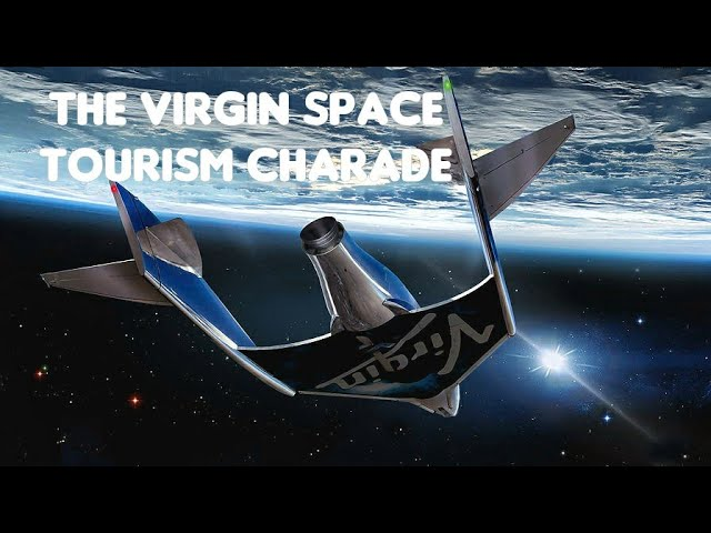 BRANSON Space Plane - Just another HOAX