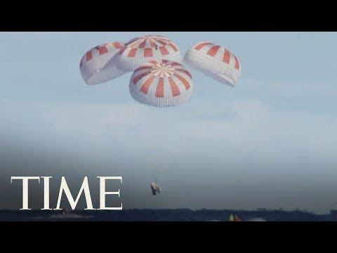 SpaceX's Crew Dragon Is Safely Back On Earth: Now It's the Astronauts' Turn | TIME