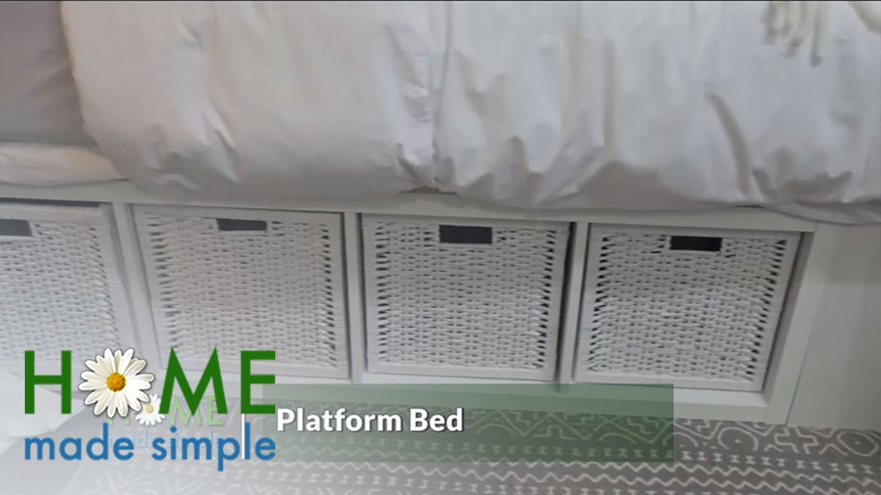 Build a Platform Bed That's Also a Storage Space | Home Made Simple | Oprah Winfrey Network