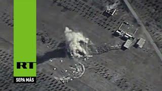 Terroristas del EI se retiran de Siria a causa de los ataques rusos