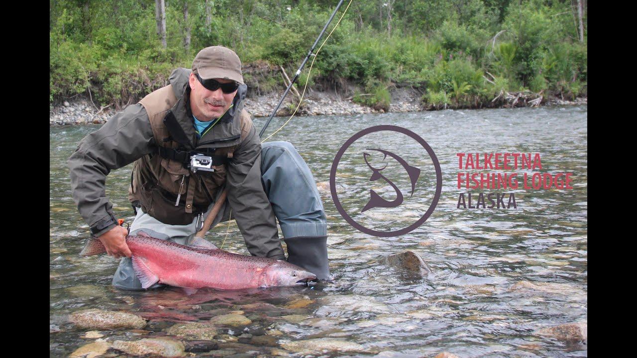 Talkeetna fishing lodge alaska youtube for Alaska out of state fishing license