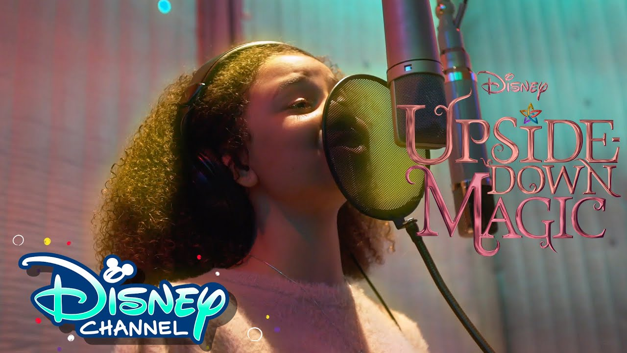 Everything is Magic 💫  Behind the Scenes   Upside-Down Magic   Disney Channel