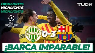Highlights | Ferencváros 0-3 Barcelona | Champions League 2020/21-J5 | TUDN