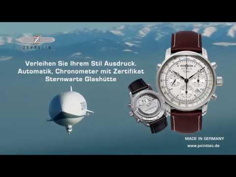 Zeppelin uhren chronometer glashutte