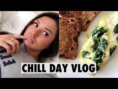 VLOG: CHILL DAY, HEALTHY EATING & A GIVEAWAY