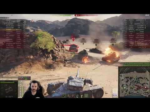 World of Tanks - EBR 75 + Corridor Map? thumbnail