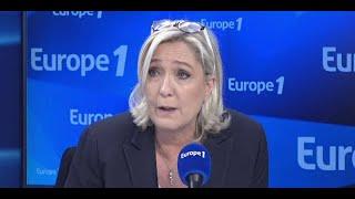 Marine Le Pen sur le rassemblement contre l'antisémitisme :
