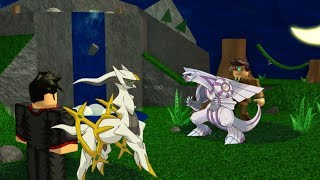 DominoKid123 Battles Lando64000~ ROBLOX Pokemon Brick Bronze *SKIT*