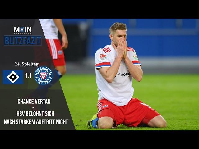Scholles Blitzfazit zum Spiel | HSV 1:1 Holstein Kiel / Saison 20/21 | #011