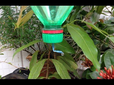 Soda Bottle Watering Sistem Make a Sustainable Drip Water Irrigation