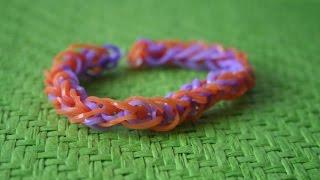 Плетение из резинок. Браслет  «Французская коса»: видео(Сегодня я снова встретилась с вами на мастер-классе по созданию браслетов из резинок. Они плетутся каждый..., 2015-06-05T13:00:57.000Z)