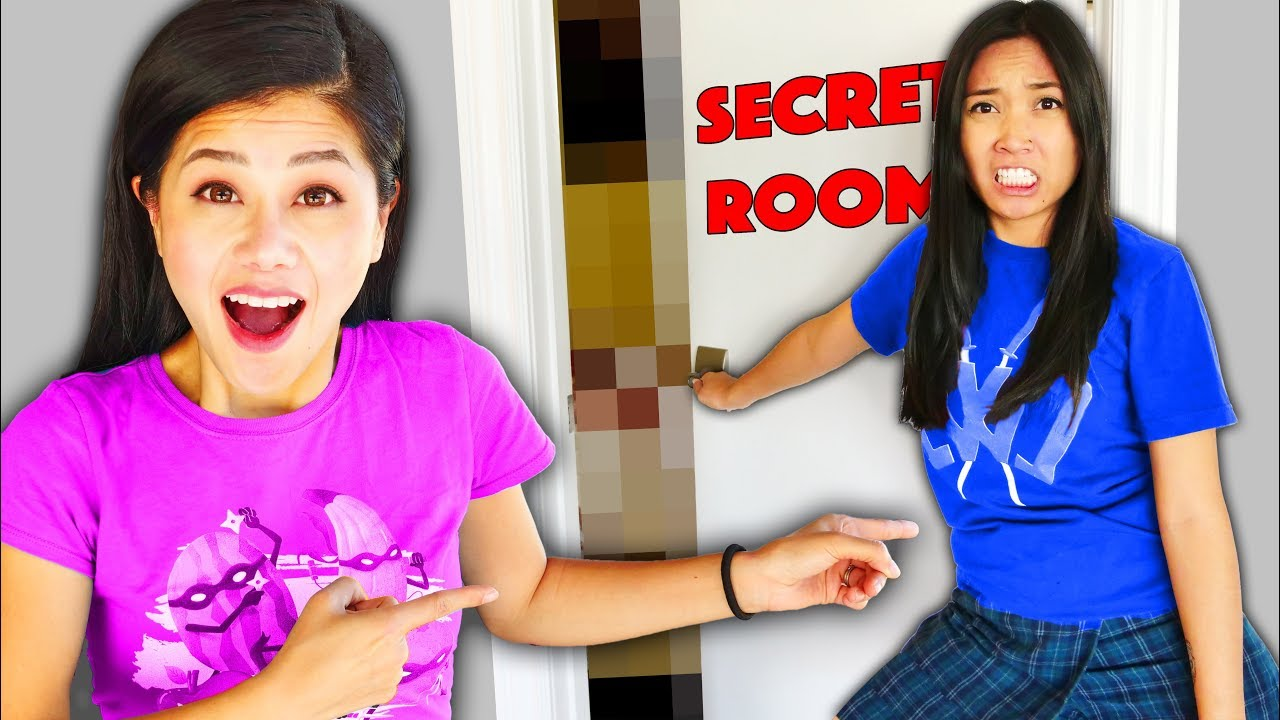 Download REGINA SECRET ROOM REVEAL! Spending 24 Hours Finding Files in the Most Mysterious Safe House Place