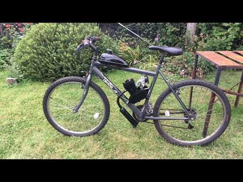 Banggood 80cc 2-Stroke Motorised Bicycle Engine Kit 66cc 48cc 50cc