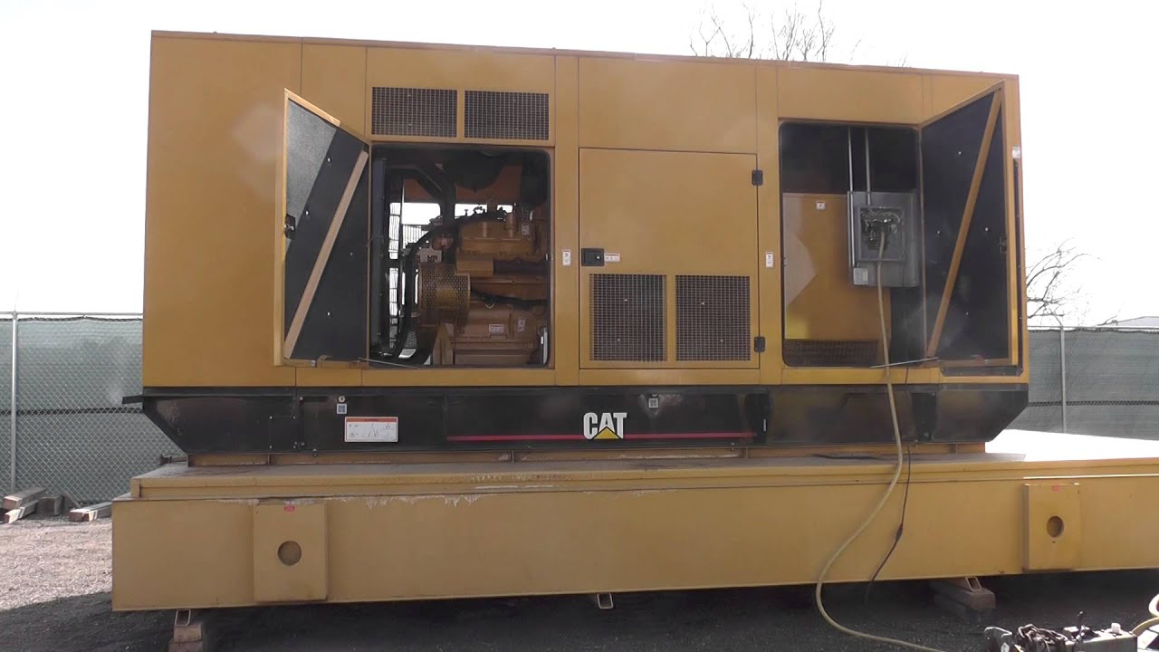 600 kW Caterpillar Diesel Generator Set Standby Used Unit