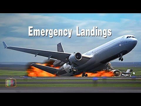 飛機史上危險著陸瞬間 │Airplane Emergency