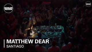 Matthew Dear Boiler Room x Budweiser Santiago DJ Set