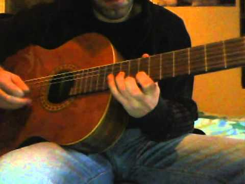 Jack Johnson - Moonshine (guitar cover)