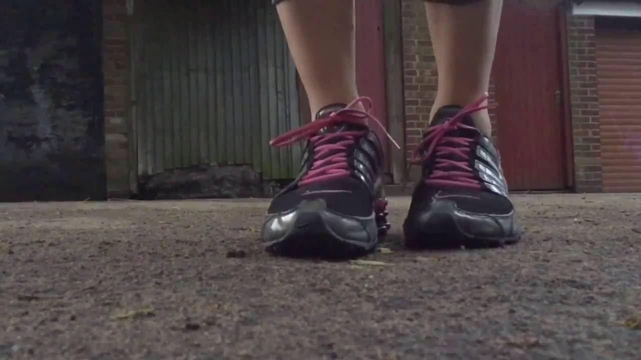 best website c10fc d5039 Women s Nike Shox NZ (Black Pink) Slo-Mo