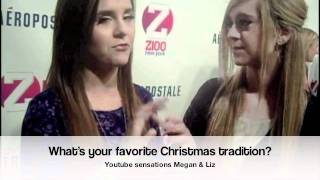 Stars on the red carpet of the Z100 Jingle Ball in NYC!