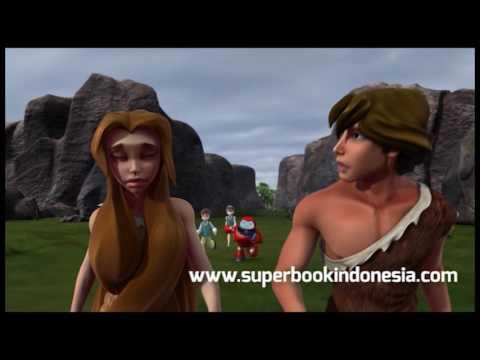 Superbook Indonesia - Kisah Tipuan Siular (part8)