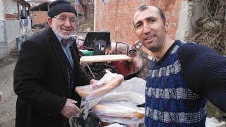 Köyde gelenek ve göreneklermiz ismayil Emmi ekmek ve helva dağıtıyor komşulara