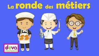 La ronde des métiers (J'apprends le boulanger, l'épicier, l'opticien ..) Ⓓⓔⓥⓐ Education
