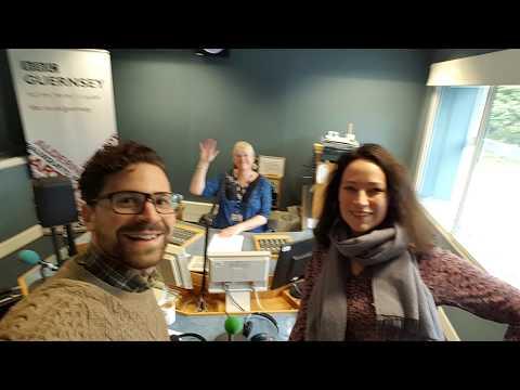 Patricia Hammond and Matt Redman live on BBC Radio Guernsey