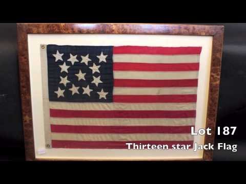 Wall Art, Flags, Carvings - Marine Auction April 13, 2013