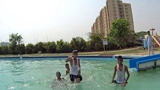 Super Fun Water Slide at Sports Village Kanpur