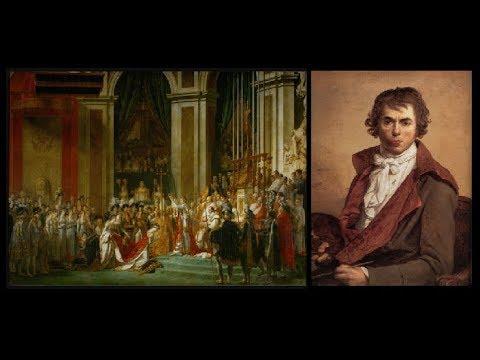 L'incoronazione Di Napoleone  ( Le Sacre De Napoléon ) Jacques-Louis David    Museo Del Louvre