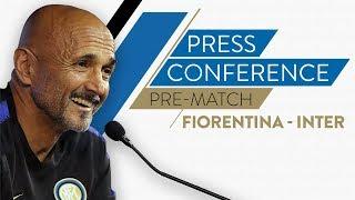 FIORENTINA vs INTER | Luciano Spalletti Pre-Match Press Conference LIVE 🎙⚫🔵