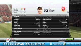 Fifa 12 Squad Review: Polish/German (Bronze/Silver BEASTS)