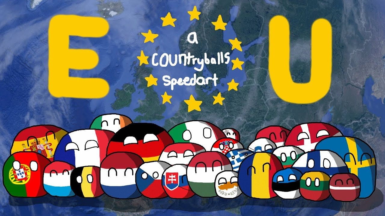 Countryballs History Of European Union Youtube