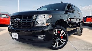 2018 Chevrolet Tahoe RST Performance Edition (6.2L V8) - Review