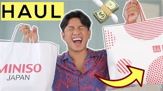 Miniso & Uniqlo Haul 2020 | David Guison