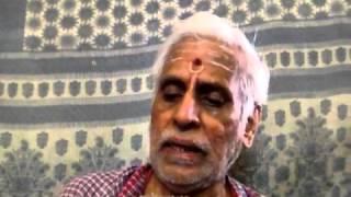Mahishasura Mardini Recital from Tamil script