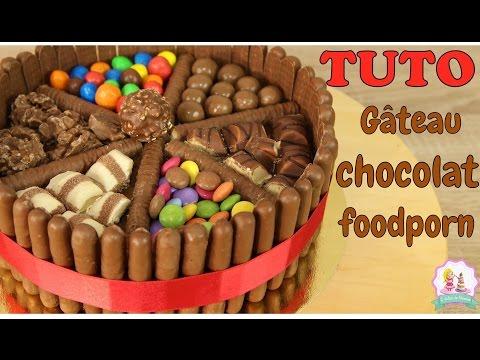 ♡•-recette-gÂteau-chocolat-foodporn---kinder-bueno-m&m's-smartie's---chocolate-cake-recipe-•♡