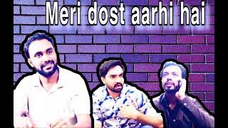 Meri dost aarhi hai | funny video | shaka Guddu and babloo | Rashid shah | Shah Vines