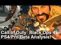[4K] Call of Duty Black Ops 4: PS4 vs PS4 Pro Beta Analysis - Treyarch's tech evolved?