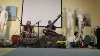"""Festival """"Sitar in Saint Petersburg 2008"""" day 1 Alexandr Ragoza & Larisa Ragoza"""