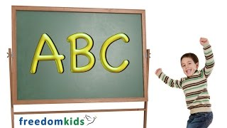 ABC Alphabet Song |  Freedom Kids