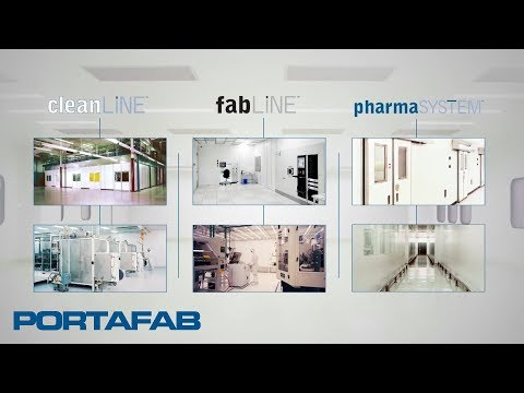 Cleanroom Wall Systems from PortaFab | Modular Clean Room Manufacturer