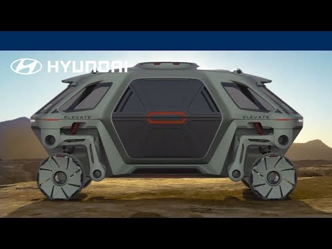 Stranger Zone - Project Elevate: Hyundai Developing A Walking Car